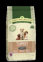 James Wellbeloved Adult Light Turkey & Rice